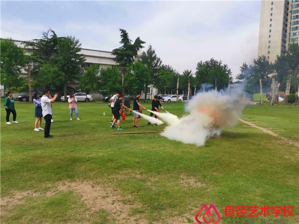 北京亚博app苹果版下载艺术学校 消防培训2